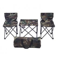Set Masa si Scaune pentru Camping, Pescuit, Picnic, Pliabile