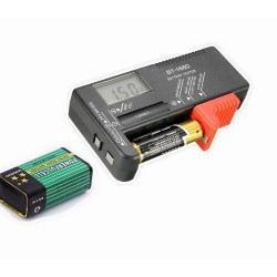 Tester pentru baterii digital BT-168D intre 1.5 si 9V C176