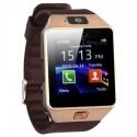 Smartwatch Bluetooth DZ09 MTK Compatibil SIM si MicroSD cu Camera Auriu