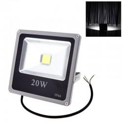 Proiector LED SMD 20W Economic Slim 6500K ( Lumina Rece) 220V de Interior si Exterior Rezistent la Apa c46