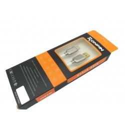 Cablu Date si Incarcare RONPIN Type-C Cablu Alb C219