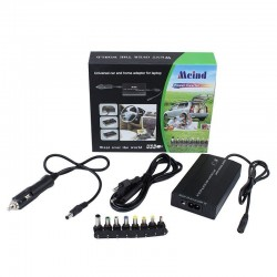 Incarcator universal laptop, priza si auto, 100W, 8 conectori C234