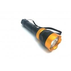Lanterna Metalica MRG PL-939A Reincarcabila cu Acumulator Flash C261