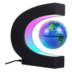 Glob pamantesc magnetic plutitor cu iluminare LED