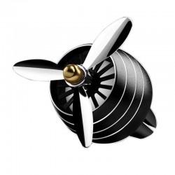 Odorizant Auto Tip Ventilator pentru Grila cu Lumini Negru C318