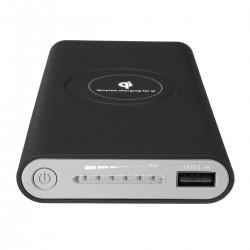 Baterie Externa Wireless 10000 mAh negru, pentru iPhone 8, X, Samsung Galaxy S6/S7, Edge/Note 5, c240