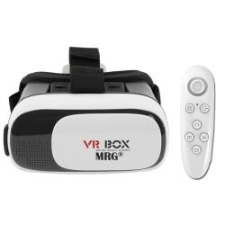 Ochelari virtuali 3D MRG L-396, VR Box, Cu telecomanda, pentru telefon C396