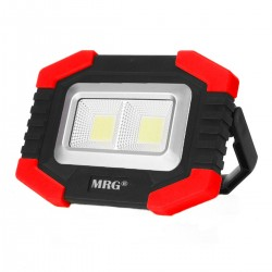 Proiector LED MRG M-T-917A, Portabil, Cu acumulator, Reincarcabil C390