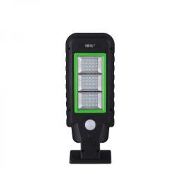 Lampa solara stradala MRG A-HS-8011A, Panou solar, 60 LED, Negru C400