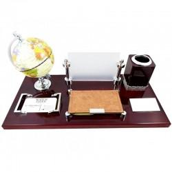Set birou cu globul pământesc CD-09020