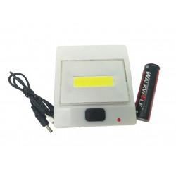 Lanterna Lampa de Veghe COB cu LED 5W, lumina Alba Rece C202
