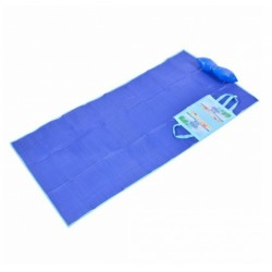 Rogojina pentru Plaja,cu Pernuta Gonflabila, 90 x 180 cm,ideal Plaje,Albastru si Roz,Camping,Gradina