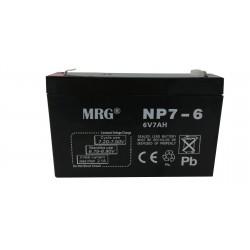 Acumulator plumb acid MRG M-426, 6V-7Ah, Reincarcabil, Negru C426