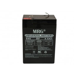 Acumulator plumb acid MRG M-425, 6V-4.5Ah, Reincarcabil, Verde C425