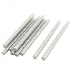 Set 10 rezerve silicon 11mm MRG M-419, Lungime 20cm, Gri C419