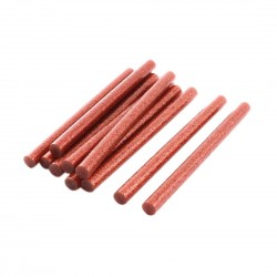 Set 10 rezerve silicon 11mm MRG M-418, Lungime 20cm, Rosu C418