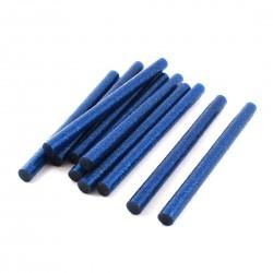 Set 10 rezerve silicon 11mm MRG M-417, Lungime 20cm, Albastru C417