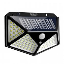 Panou Led Solar MRG A-CL100, 100 LED-uri SMD, Senzor miscare, Incarcare solara C459