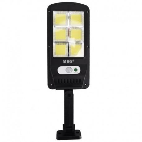 Lampa solara stradala MRG M-6035, 120 LED, Incarcare solara, Negru C526