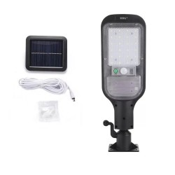 Lampa solara stradala MRG MJX-516, Panou solar, Pentru exterior, Negru C549
