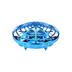 Mini Drona UFO MRG M-909, Senzori infrarosu, Diametru 11 cm, Albastru C520