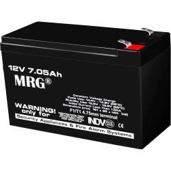 Acumulator plumb acid MRG M-485, 12V-7Ah, Reincarcabil, Negru C485