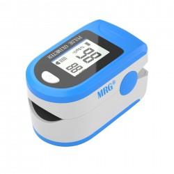Pulsoximetru MRG M-X1906, Display LCD, Pentru deget, Alb / Albastru C469