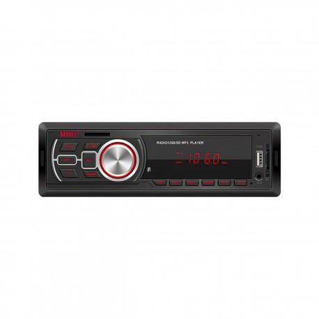Casetofon Auto MRG A-626, Bluetooth, Cu telecomanda, Hands-free, Display rosu C458