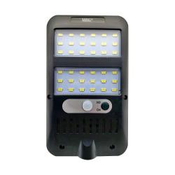 Lampa solara MRG MJX228, 36 LED Cob, Panou solar, Senzor de miscare, Negru C559