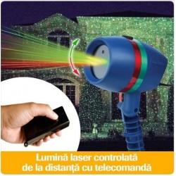 Proiector laser pentru exterior, rezistent la apa Proiectorul laser de stele inlocuieste cu succes orice ins