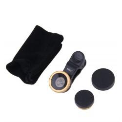 Kit lentile telefon MRG M562, Fish eye, Macro, Wide C562