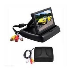 Monitor LCD TFT de bord 4.3 inch, pliabil, compatibil cu orice camera marsarier
