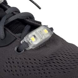 Set 2 led Adidasi, Lumina Rosie pentru Sireturi, Rezistent la Apa, Alergare Parc, Drumetii, Calatorii