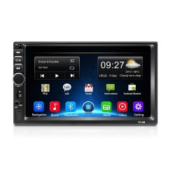 Navigatie Android 8.1, 2Din mp5 player auto universal 7018B, 2/32GB Radio RDS,GPS, Wifi, Play Store