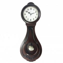 Ceas de perete cu pendulă - Teardrop P8411