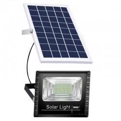 Proiector MRG M597, 45 W, Cu Panou solar, Cu telecomanda, Negru C597