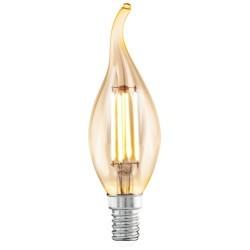 Bec LED Vintage E14 Flacara F35