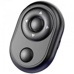 Mini Telecomanda Wireless Techstar®, Bluetooth, Control Camera, Timer, Control Player, Nu Necesita Aplicatie