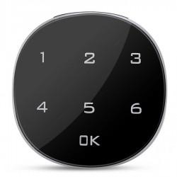 Incuietoare Inteligenta Techstar®, Touch Screen Digital, 20mm, Alarma, Cod, Alimentare Urgenta