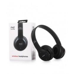 Casti headset,pliabile, Wireless,conexiune Bluetooth 5.0, negru