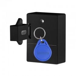 Incuietoare Inteligenta Techstar®, EMID IC, Digital, Discret, Deblocare cu card RFID, Control Acces, Negru