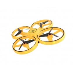 Mini Drona, Control prin gesturi, Rotire 360 grade, Leduri incorporate