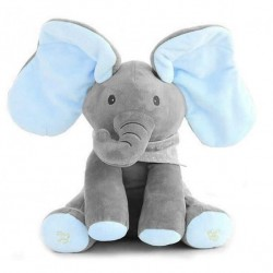 Elefant interactiv din plus - vorbeste, canta si flutura urechile