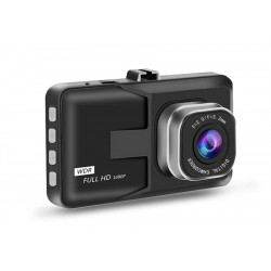 """Camera Video Auto Dubla Techstar® T636, FullHD, 1080P, Functie WDR, Camera Marsarier 720P, Ecran 3"""" LCD"""