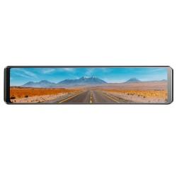 "Camera Auto Tip Oglinda Techstar® A50, Dubla, LCD 10"" Inch Touch Screen, 2K, 1440P + 1080P, H265, Night Vision, Camera Marsarier"