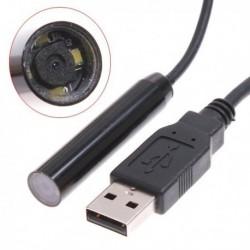 Camera Endoscopica, 6 x LED, USB, 10 m, Investigarea Starii Locurilor Stramte si Inguste, a Canalelor,Motoare