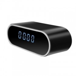 Ceas de birou iUni CP07, Full HD, Wi-Fi, Night Vision, Senzor de miscare, P2P, Unghi 160 de grade