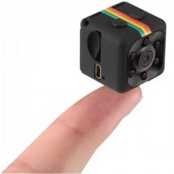 Camera Spion mini iUni SQ11, Night Vision, Audio Video, TV-Out, Black