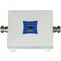 Repetor de semnal GSM Profesional iUni W17WGSM, 2G, Distantare antene 20m, Digital, Argintiu