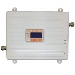 Repetor de semnal GSM Profesional iUni W17GGW, 4G/3G, Distantare Antene 20m, Digital, Argintiu